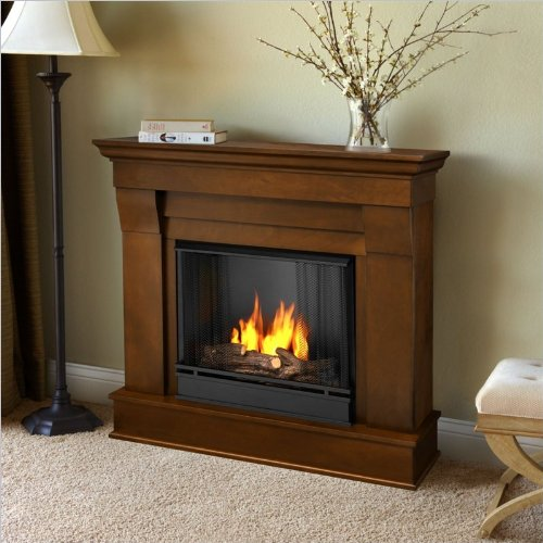 Real Flame Chateau Ventless Gel Fireplace in Espresso Finish image B009KST90U.jpg