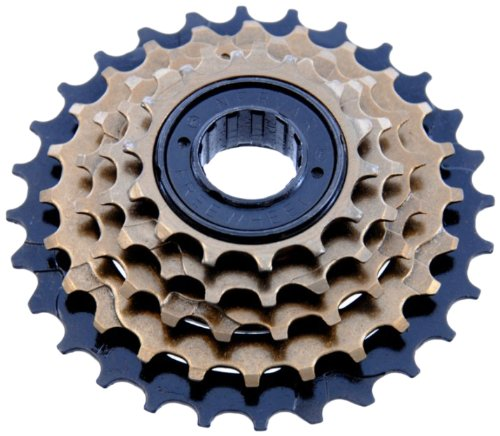 Btwin 5 Freewheel And Chain, Adult