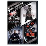 4 Film Favorites: Blade (Blade, Blade 2, Blade: House of Chthon, Blade: Trinity) ~ Wesley Snipes