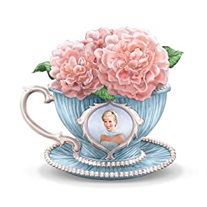Princess Diana Tribute Teacup Figurine: England's Rose by The Hamilton Collection