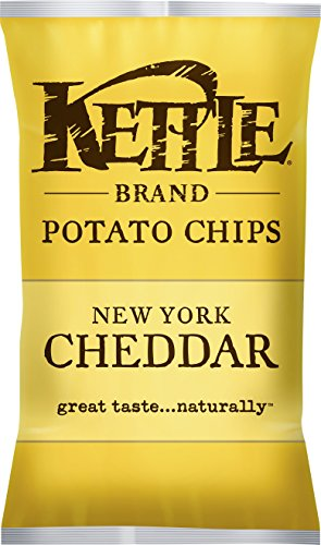 Kettle, Natural Gourmet Potato Chips, New York Cheddar With Herbs,  5 oz