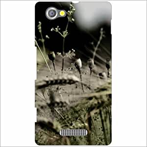 Sony Xperia M Back Cover - Grey Designer Cases