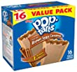 Pop-Tarts, Frosted Brown Sugar Cinnamon, 16-Count Tarts (Pack of 8), Total of 128 Toaster Pastries