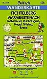 Fichtelberg - Warmensteinach: Mehlmeisel, Bischofsgr�n, Nagel, Tr�stau, Brand (Fritsch Wanderkarten 1:35000) -