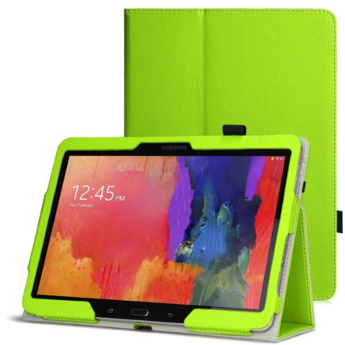 Wawo Samsung Galaxy Tab Pro 10.1 Inch Tablet Smart Cover Folio Case - Green