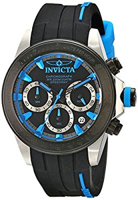 Invicta Men's 17193SYB Speedway Analog Display Japanese Quartz Black Watch
