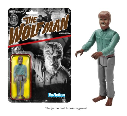 Funko Universal Monsters Series 1 - Wolfman ReAction Figure - 1