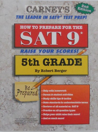 How To Prepare for the SAT 9 - 5th Grade (Workbook)