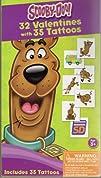 Scooby Doo 32 Valentines   35 Tattoos Preschool