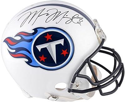 Marcus Mariota Tennessee Titans Autographed Pro Line Helmet - Fanatics Authentic Certified - Autographed NFL Helmets