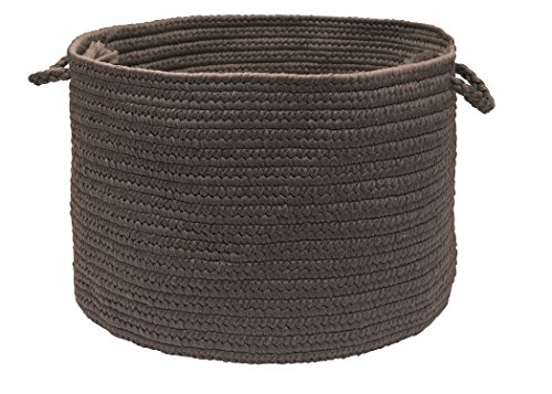 Colonial Mills Brooklyn Utility Basket, 18 by 12-Inch, Slate - 1