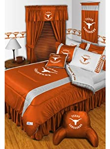 NCAA Texas Longhorns - 5pc Bedding Set - Full Double Size by NCAA
