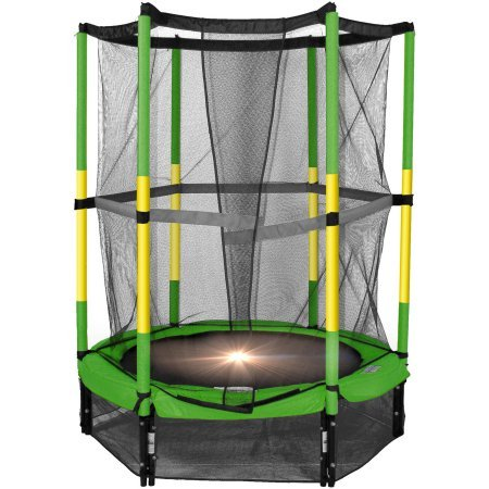 55-My-First-Round-Rust-Resistant-Trampoline-Green-and-Yellow