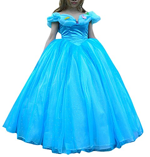 Ace Halloween Adult Women's Cinderella Princess Costumes