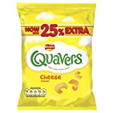 Walkers Quavers Cheese Flavour - Pack of 48