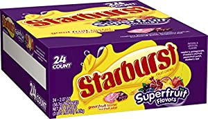 Starburst Superfruit, 2.07 Ounce (Pack of 24)