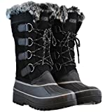 WOMEN'S KHOMBU NORTH STAR THERMOLITE WEATHER RATED WINTER SNOW BOOTS (