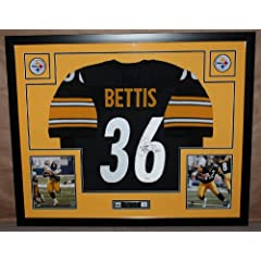 Jerome Bettis Autographed and Framed Black Steelers Jersey Auto JSA Certified (Only...