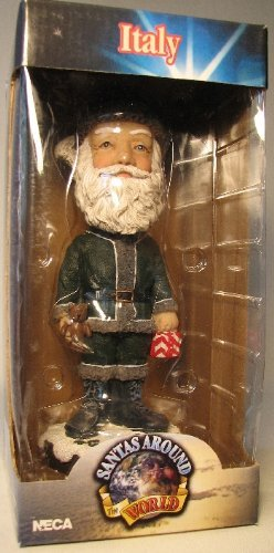 NECA Santas Around the World Head Knockers - Italy Befana - 1