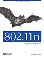 802.11n: A Survival Guide Front Cover