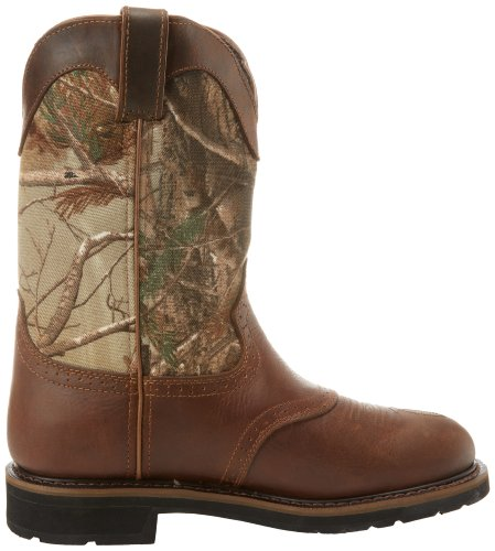 Justin Original Work Boots Men S Stampede Camo Waterproof