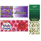 Amrutha Aromatics Assorted Incense Sticks 100G (Pack Of 3 ) - B00T9PASO0