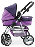 Bayer 40 - 73cm Dolls Pram Sport Jogger Fairy Design (Purple)