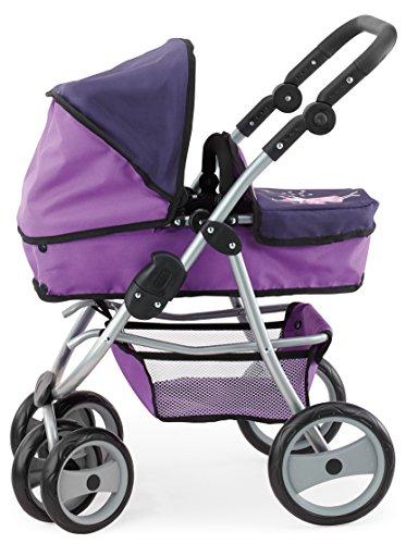 Bayer Design 22212 - Passeggino Sportivo per Bambole, Colore: Lilla