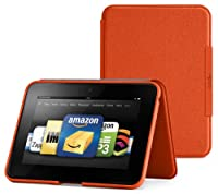 "Amazon Kindle Fire HD 7"" (Previous Generation) Standing Leather Case, Persimmon (will only fit Kindle Fire HD 7"", Previous Generation) by Amazon Digital Services, Inc"