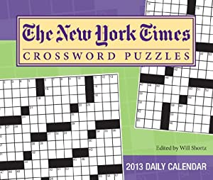 (6x7) The New York Times Crossword Puzzles - 2013 Day-to-Day Calendar