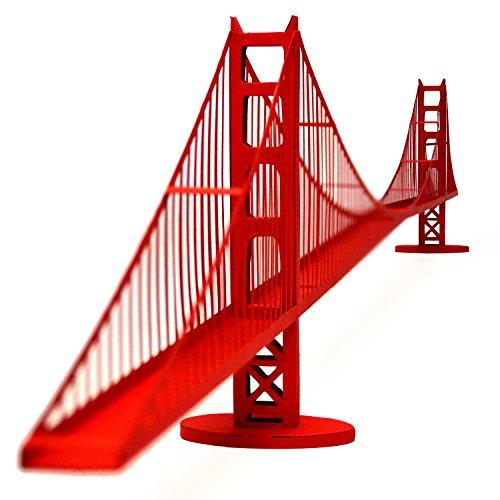 PaperLandmarks Golden Gate Bridge Paper Model Kit (Golden Gate Bridge Model compare prices)