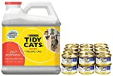 Fancy Feast Flaked Fish & Shrimp Feast + Tidy Cats Bundle
