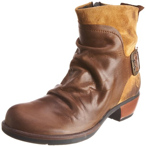 Fly London Womens Mel Camel Ankle Boot P141633000 8 UK