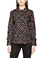 Love Moschino Camisa Mujer (Negro / Multicolor)