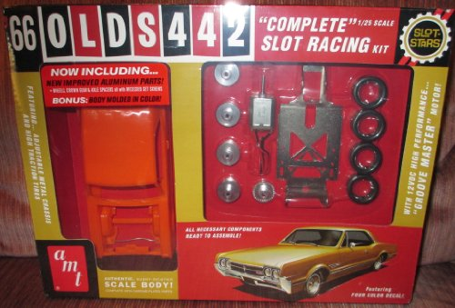 1/25 '66 Olds 442 Slot Car Race Kit