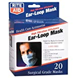 Rite Aid High Filtration Efficiency Ear-Loop Mask