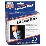 Rite Aid High Filtration Efficiency Ear-Loop Mask