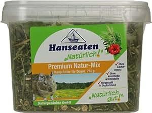 Nager Premium Natur Mix Hauptfutter Deg. 750g, 1er Pack (1 x 750 g)