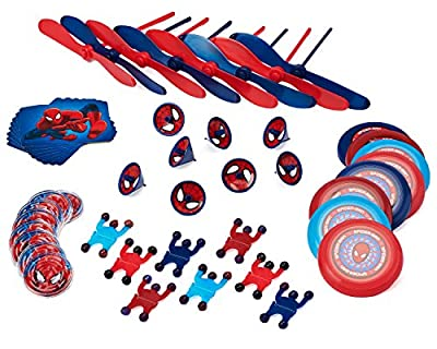 Spider-Man Party Favor Pack, Value Pack, Party Supplies