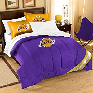 NBA Los Angeles Lakers Full Applique Comforter and Sham Set, 76 x 86-Inch by Northwest