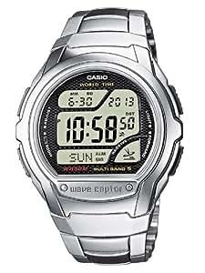Casio - WV-58DE-1AVEF -Homme Radio Piloté - Multifonction - Quartz Digitale - Bracelet acier