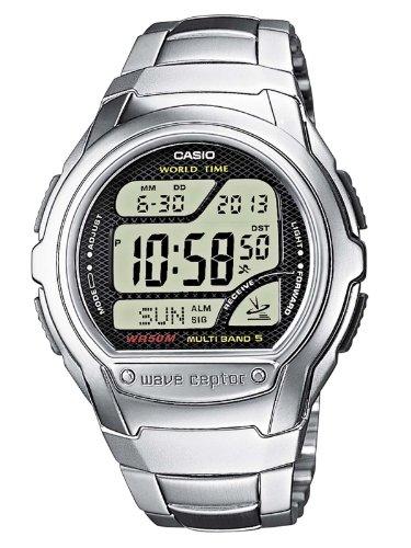 Casio-Funkuhren-Herren-Armbanduhr-Digital-Quarz-WV-58DE-1AVEF