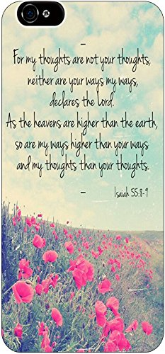 For My Thoughts Are Not Your Thoughts Neither Are Your Ways My Ways, Declares The Lord As The Heavens Are Higher Than The Earth, So Are My Ways Higher Than Your Ways And My Thoughts Than Your Thoughts Isaiah 55:8-9 Bible Quote Christian Verses Pattern The front-1005005