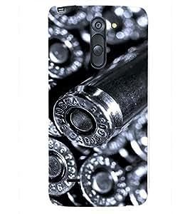 PRINTSHOPPII BULLETS GUN Back Case Cover for LG G3 Stylus::LG G3 Stylus D690N::LG G3 Stylus D690