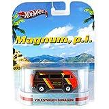 Magnum p.i. Volkswagen Sunagon 1/64 Van - Hot Wheels Diecast Models