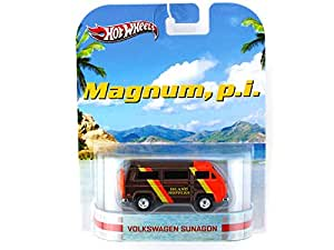 Magnum p.i. Volkswagen Sunagon 1/64 Van - Hot Wheels Diecast Models