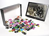 Photo Jigsaw Puzzle of Policeman on BSA ...