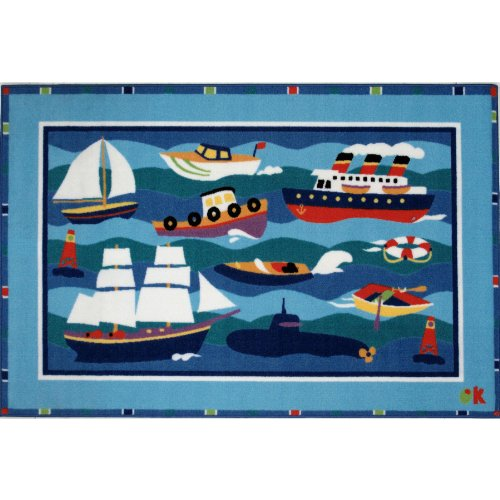 Boats & Buoys Area Rug 19
