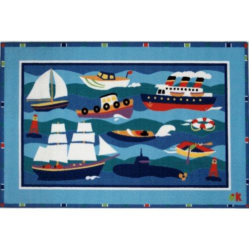 Boats & Buoys Area Rug 19