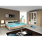 rauch Schlafzimmer Valence,4-teilig Eiche Sonoma/alpinweiß Eiche Sonoma/alpinweiß